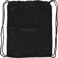Мешок для обуви 1 отд,полиэстер, 35x42 см,черный