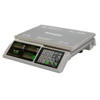 Весы торговые настольные M-ER 326AC-32.5 Slim LCD белые