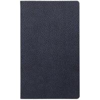 Бизнес-тетрадь Attache Bizon A5 64 листа темно-синяя в клетку на сшивке 125x210 мм