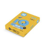 Бумага цветная IQ Color (A4  80 г/кв.м AG10-старое золото  100 листов)
