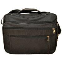 Конференц-сумка для документов Binom полиэстер черный (17x36x28 см)