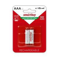 Аккумулятор Smartbuy 800 mAh AAA/2BL NiMh