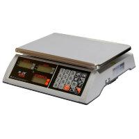 Весы торговые настольные M-ER 327AC-32.5 Ceed LED белые
