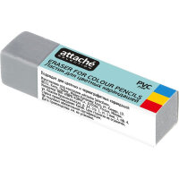 Ластик Attache Selection для стирания цветных карандашей 60x15x13 мм