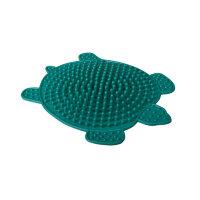 Коврик массажный модель 1299 Черепаха резиновый зеленый 330х260 мм