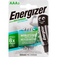 Аккумулятор ААА 800 мАч Energizer Extreme 2 штуки в упаковке Ni-Mh
