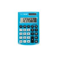 Калькулятор карманный Milan 150908BBL 8-разрядный голубой