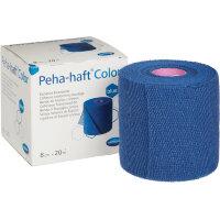 Бинт Peha-haft самофиксирующийся эластичный синий 20 м x 8 см