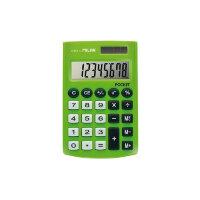 Калькулятор карманный Milan 150908GBL 8-разрядный салатовый