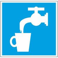 D02 Питьевая вода плёнка ПВХ 200х200 мм