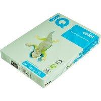 Бумага цветная IQ Color (А3 160 г/кв.м МG28 - зеленый  250 листов)