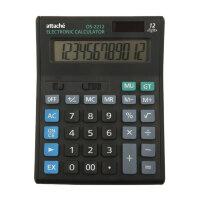 Калькулятор настольный Attache Economy 12-разрядный черный