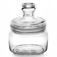 Банка для сыпучих продуктов Pasabahce Cesni стеклянная прозрачная 0.42 л