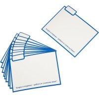 Картонный горизонтальный разделитель для картотеки трудовых книжек (10 штук в упаковке)