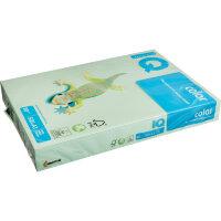 Бумага цветная IQ Color (А3 80 г/кв.м MG28-зеленый  500 листов)
