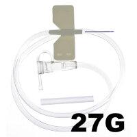 Игла-бабочка SFМ 27G (0.4х19 мм, 100 штук в упаковке)