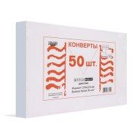 Конверт белый C4 декстрин 229х324 мм OfficePost 50 штук в упаковке