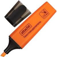Маркер выделитель текста Attache Colored 1-5 мм оранжевый