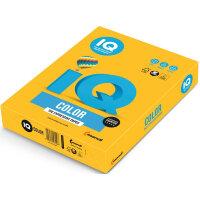 Бумага цветная IQ Color (А3 80 г/кв.м SY40-солнечно-желтый  500 листов)