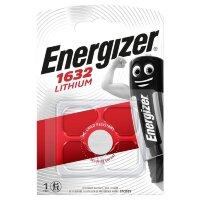 Батарейка Energizer Lithium CR1632 1 штука в упаковке