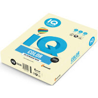 Бумага цветная IQ Color (А4  160 г/кв.м BE66 - ванильно-бежевый  250 листов)