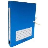 Короб архивный Attache гофрокартон синий 232x46x316 мм