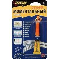 Клей Моментальный ГЕЛЬ СЕКУНДА 3 г 403-176