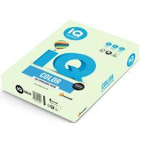 Бумага цветная IQ Color (А4  160 г/кв.м GN27-светло-зеленый  250 листов)