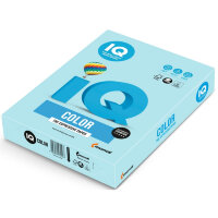Бумага цветная IQ Color (А4  160 г/кв.м MB30-голубой  250 листов)