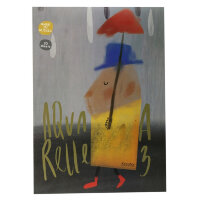Альбом д/рисов.акварелью 20л А3,склейка,тв.подл,бл.160гр Серия Друзья 00021