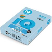 Бумага цветная IQ Color (А4  160 г/кв.м OBL70-голубой лед  250 листов)