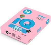 Бумага цветная IQ Color (А4  160 г/кв.м OP174-розовый фламинго  250 листов)