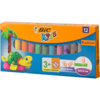 Пластилин BIC 12 цветов, арт.947713