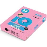 Бумага цветная IQ Color (А4  160 г/кв.м PI25-розовый  250 листов)
