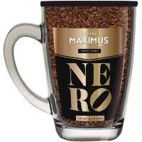 Кофе сублимированный в стеклянной кружке 'N'ERO' ТМ Maximus 70 г