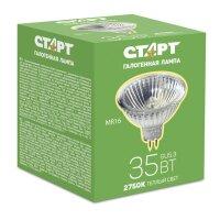 Лампа галогенная Старт 35 Вт GU53 2750k теплый белый спот