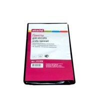 Мешки для мусора на 120 литров Attache черные 55 мкм 5 штук в пачке 70x110 см
