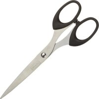 Ножницы Attache (169 мм с пластиковыми эллиптическими ручками)