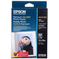Фотобумага для цветной струйной печати Epson Premium C13S041875 односторонняя глянцевая 13x18 см 255 г/кв.м 50 листов