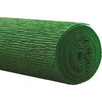 Бумага для творчества WEROLA крепированная флористическая зеленая