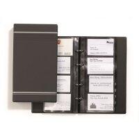 Визитница Durable Visifix на 200 визиток антрацит