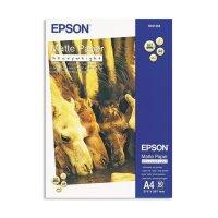 Фотобумага для цветной струйной печати EPSON s041256 (матовая  А4  167 г/кв.м  50 листов)