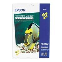 Фотобумага для цветной струйной печати EPSON s041287 Premuim Photo (глянцевая  А4  255 г/кв.м  20 листов)