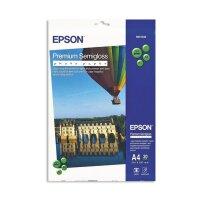 Фотобумага для цветной струйной печати EPSON s041332 Premuim Photo (полуглянцевая  А4  251 г/кв.м  20 листов)