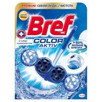 Блок гигиенический для унитаза Bref Color Aktiv с хлор-компонентом 50 г