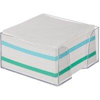 Блок для записей Attache 90x90x50 мм разноцветный в боксе плотность 65 г/кв.м