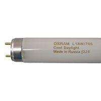 Лампа люминесцентная Osram 18 Вт G13 6400k холодный белый Трубка Т8