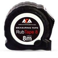Рулетка ADA RubTape 8 8 м x 25 мм с фиксатором