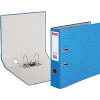 Папка с арочным механизмом Attache Colored 75 мм светло-синяя