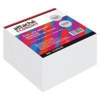 Блок для записей Attache Economy 75x75x35 мм белый плотность 65 г/кв.м